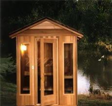 Finlandia Outdoor Sauna 6x8 DLOD68