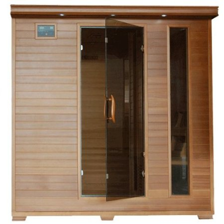 Diy do it yourself sauna kits prefab sauna kit sauna for Do it yourself sauna kit